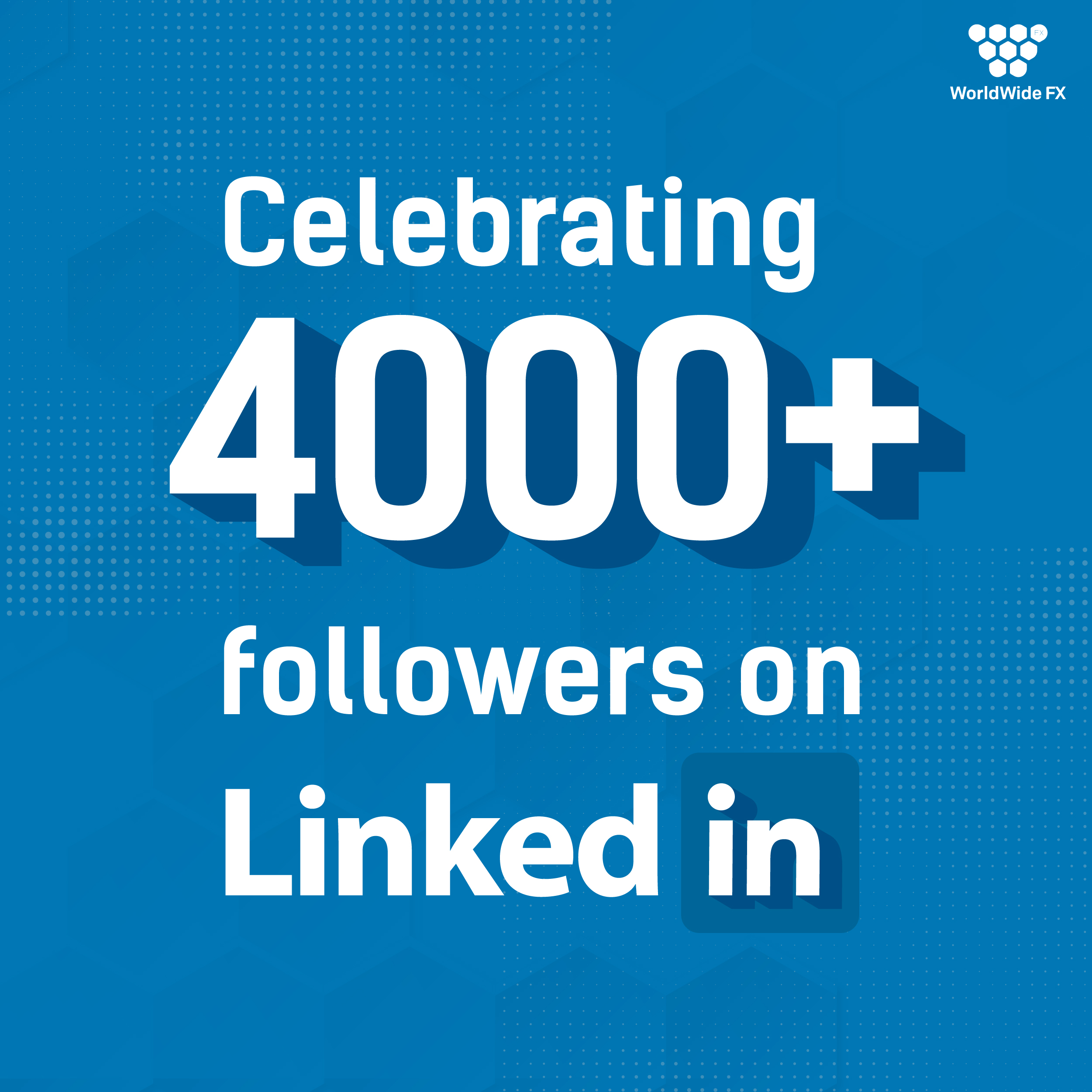 Thank You To All Of Our 4000+ Followers On LinkedIn