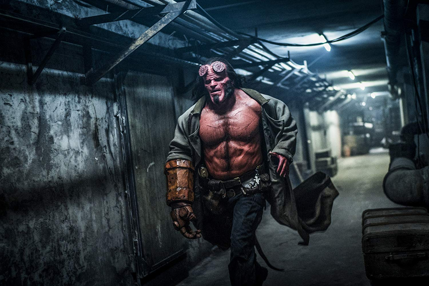 Hellboy Trailer Is Out!