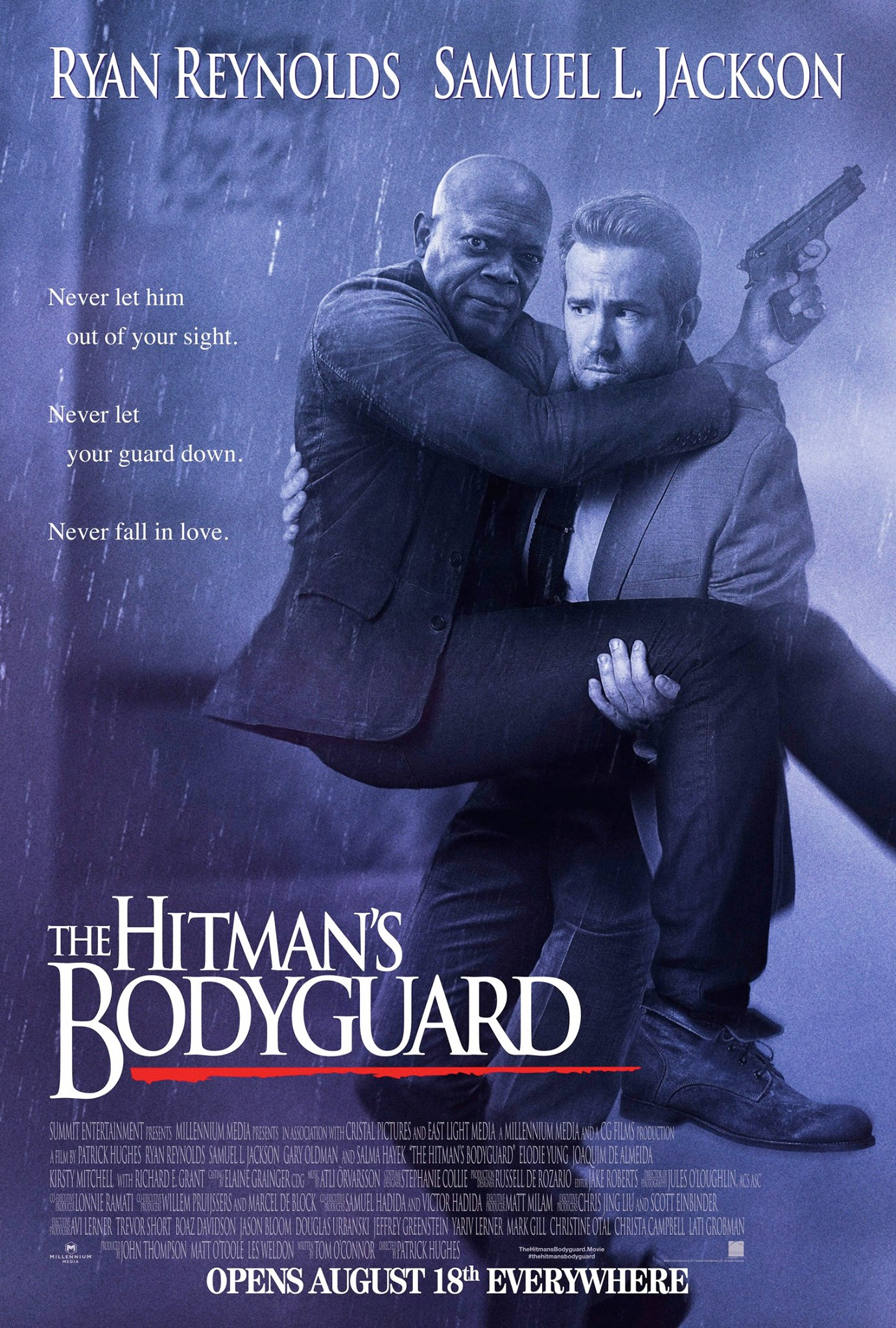 """The Hitman's Bodyguard"" Official Trailer and Poster"