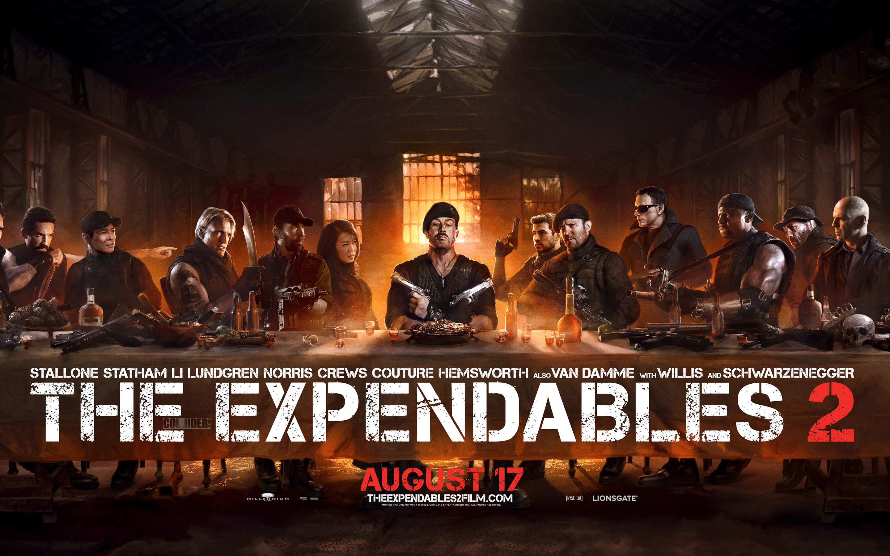 The Expendables 2 trailer #1