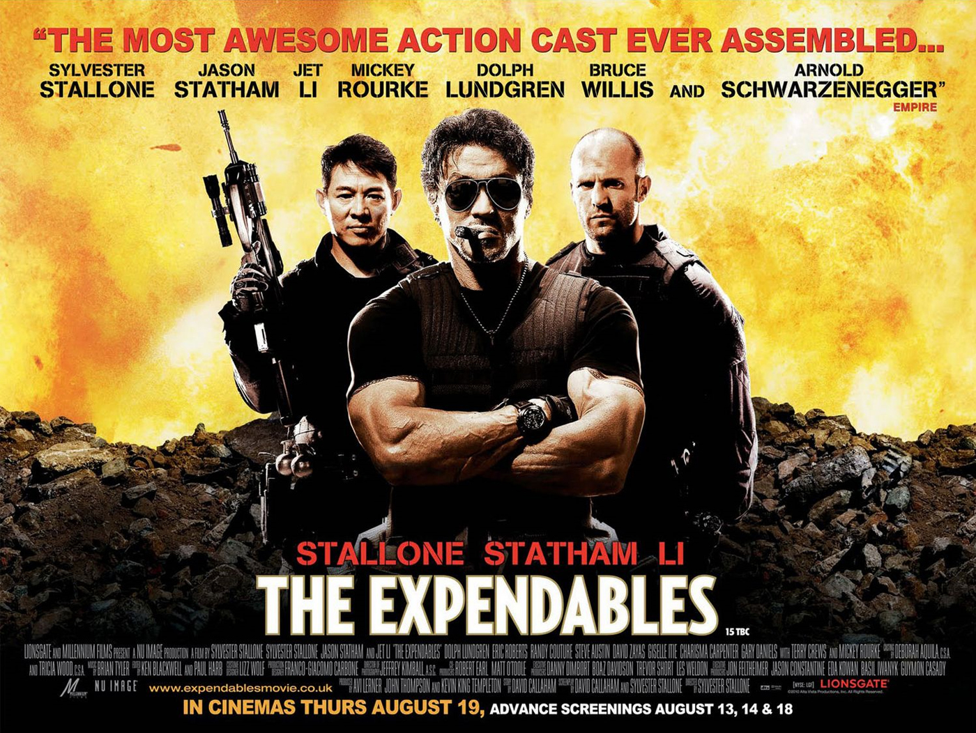 The Expendables VFX
