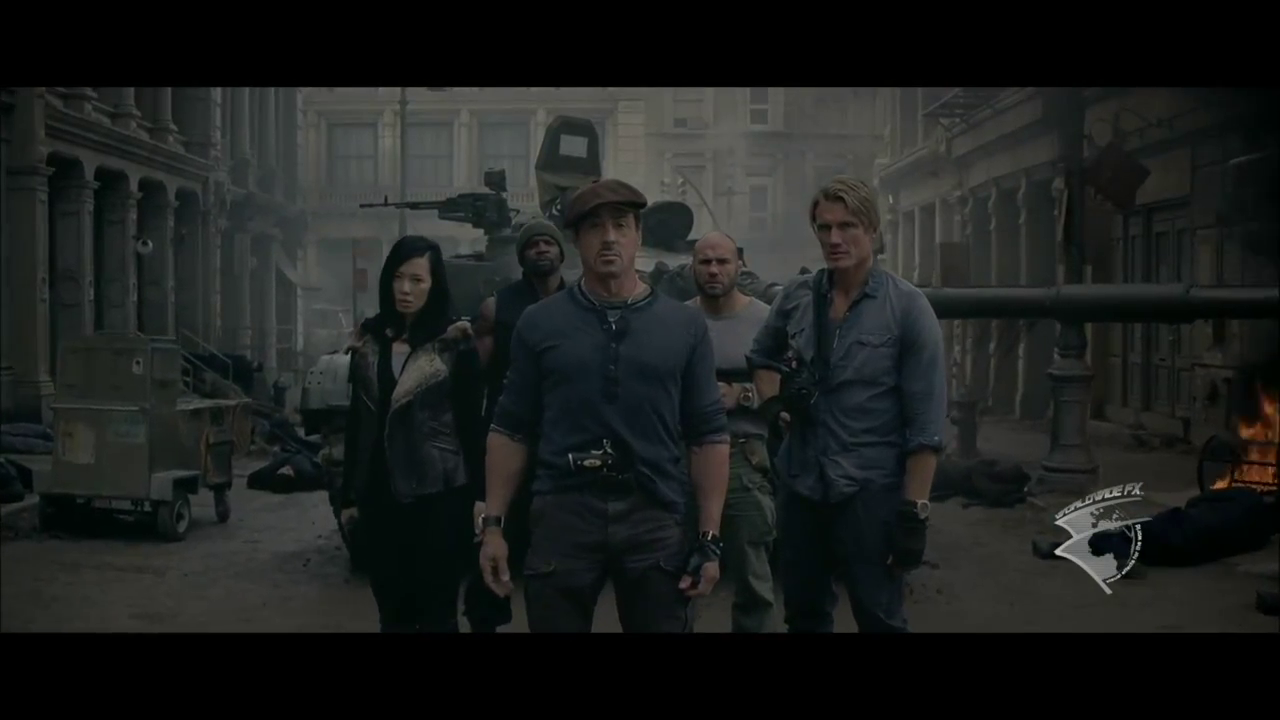 The Expendables 2 VFX Breakdown