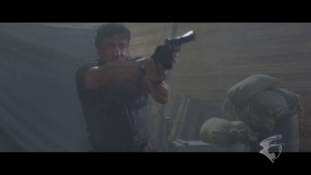 The Expendables VFX Breakdown