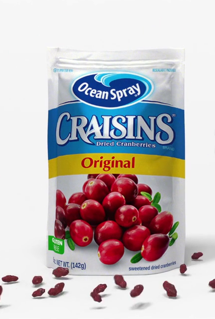 Craisins, Shake up the Flavor